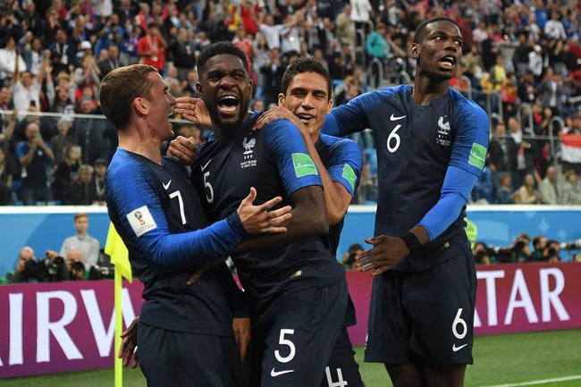 法国杀入决赛